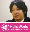 株式会社ハローワールド 代表取締役社長 笹岡 太久磨