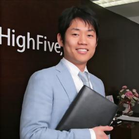株式会社ハイファイブ 代表取締役社長 奥田 良忠